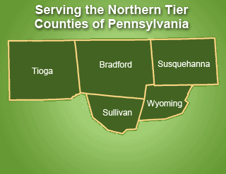 Northern Tier Counties